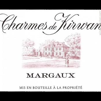 Charmes de Kirwan Charmes de Kirwan Margaux 2016<br />Bordeaux, France