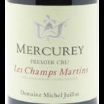 """Domaine Michel Juillot Domaine Michel Juillot Mercurey Premier Cru """"Les Champs Martin"""" 2018<br />Burgundy, France"""