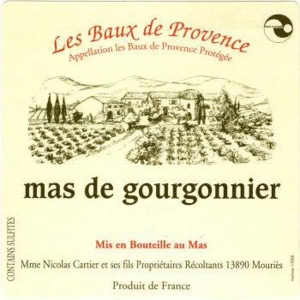 Mas de Gourgonnier Rose 2019 ORGANIC   <br />  Provence, France