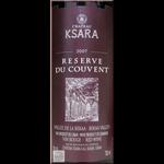 Ch Ksara Reserve Du Couvent 2017 Lebanon