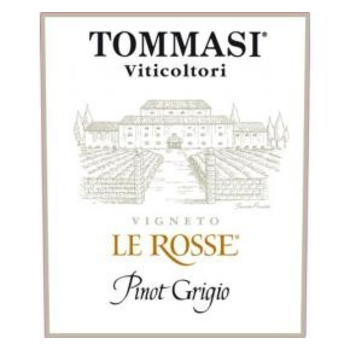 Tommasi Tommasi Le Rosse Pinot Grigio 2019<br />Italy