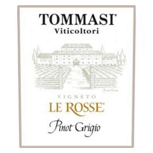 Tommasi Tommasi Le Rosse Pinot Grigio 2018<br />