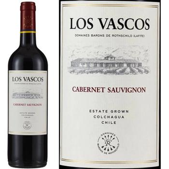 Los Vascos Los Vascos Cabernet Sauvignon  2018<br /> Colchagua Valley, Rapel Valley, Chile