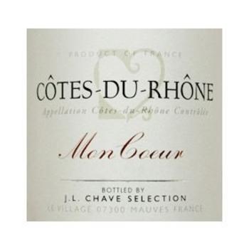 Chave J.L. Chave Mon Coeur Cote-Du-Rhone 2018<br />Rhone, France