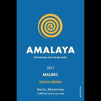 Amalaya Amalaya Estate Malbec 2017<br /> Salta, Argentina<br /> 90pts-JS, 90pts-D