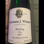 Hermann Wiemer Riesling Dry 2018<br />Finger Lakes, New York