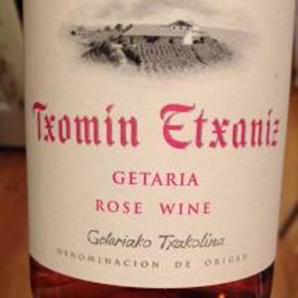 Txomin Txomin Etxaniz Getaria Rose 2019<br /> Txakolina, Spain