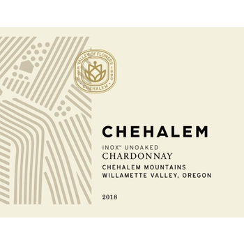 Chehalem Chehalem INOX Chardonnay 2019<br /> Willamette Valley, Oregon<br /> 91pts-JS