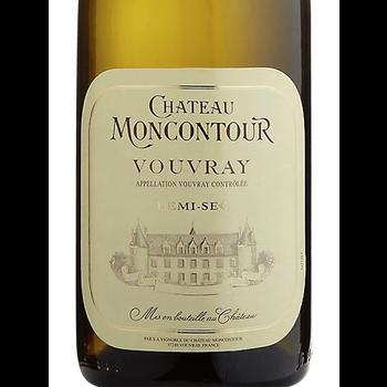 Ch. Moncontour Ch. Moncontour Demi-Sec Vouvray 2018  <br /> Loire, France