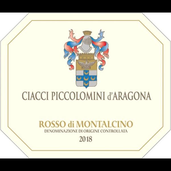 Ciacci Piccolomini Aragona Ciacci Piccolomini d'Aragona Rosso di Montalcino 2018<br /> Tuscany, Italy<br /> 92pts-WE