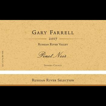 Gary Farrell Gary Farrell Russian River Pinot Noir 2017<br /> Sonoma, California<br /> 94pts-WE