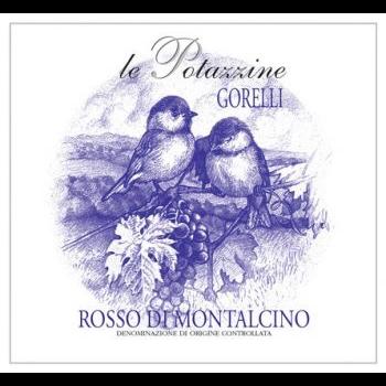 Le Potazzine Le Potazzine Gorelli Rosso Di Montalcino 2018<br /> Tuscany, Italy<br /> 91pts-WE