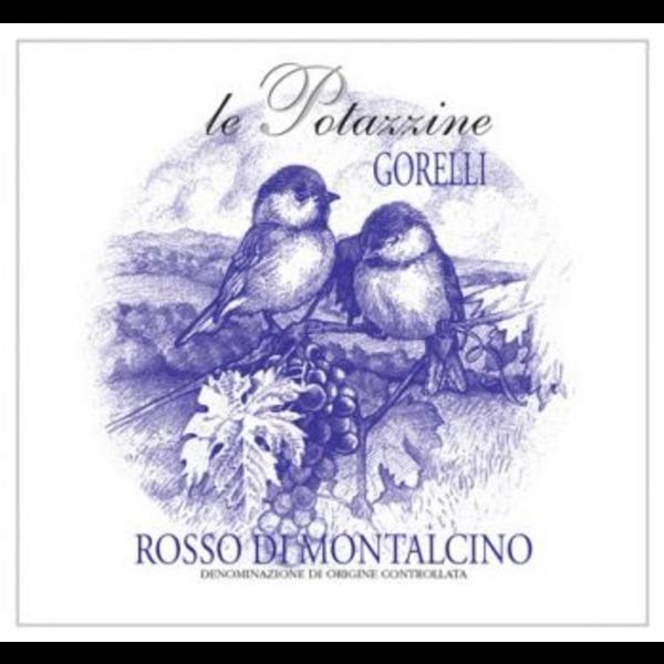 Le Potazzine Le Potazzine Gorelli Rosso Di Montalcino 2019<br /> Tuscany, Italy<br /> 91pts-WE