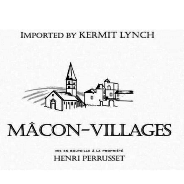 Henri  Perrusset Macon-Villages 2018 <br /> Burgundy, France