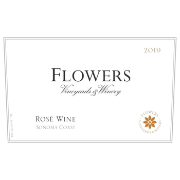 Flowers Vineyard & Winery Sonoma Coast Rose 2019<br /> Sonoma County, California
