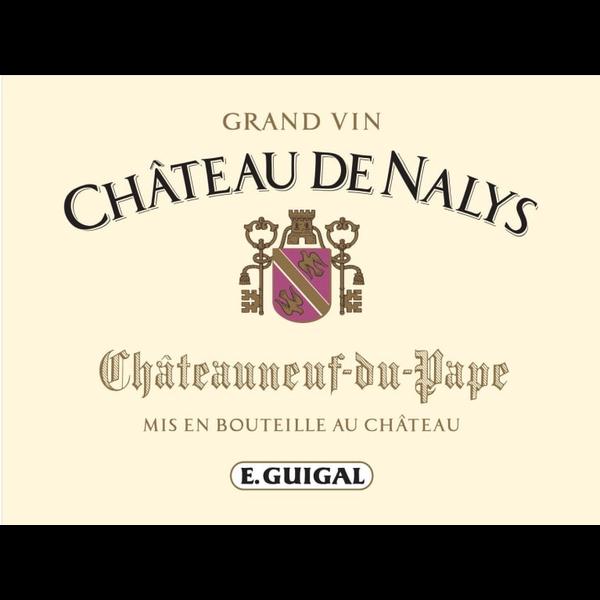 E. Guigal Ch De Nalys Chateauneuf-du-Pape Rouge Grand Vin 2017<br /> Rhone, France<br /> 93pts-JS, 92pts-D