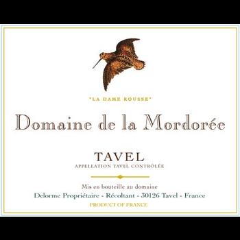Dm Mordoree Domaine de la Mordoree La Reine Des Bois Tavel Rose 2019<br /> Rhone, France