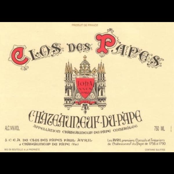 Clos des Papes Clos des Papes Chateauneuf-Du-Pape 2017 <br /> Rhone, France  <br /> 96pts-WA, 96pts-D, 94pts-WS