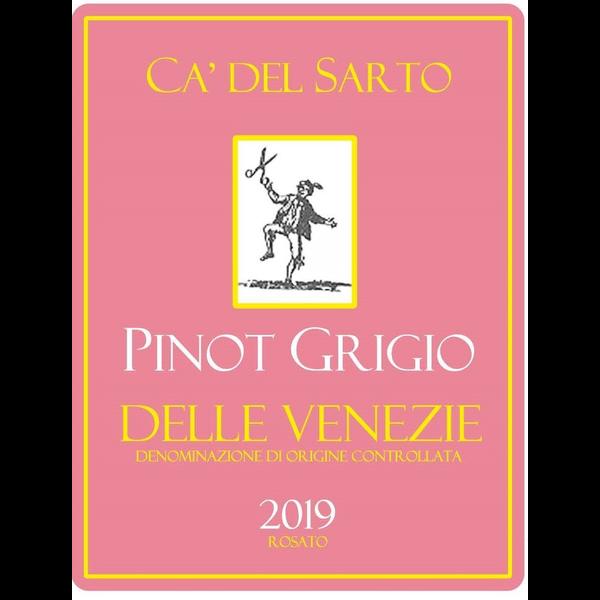 Ca' Del Sarto Pinot Grigio Rosato (Rose) 2019<br /> Italy