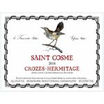 Chateau de Saint Cosme Crozes Hermitage 2018<br /> Rhone, France