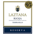 Laztana Reserva Tempranillo 2014<br /> Rioja, Spain<br /> 95pts-D