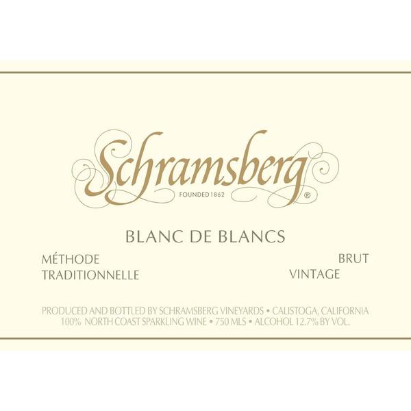 Schramsberg Schramsberg Sparkling Blanc de Blanc 2017<br />Napa, Califronia