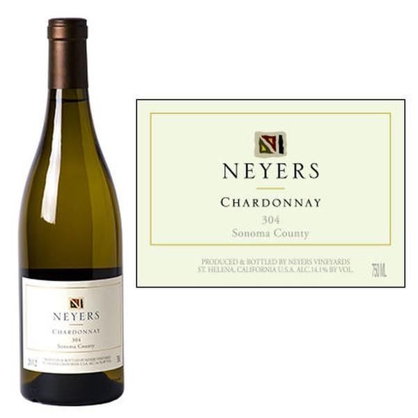 Neyers 304 Sonoma Chardonnay 2018<br /> Sonoma County, California<br /> 91pts-WE