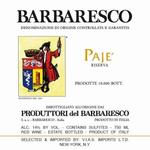 Produttori del Barbaresco Barbaresco Paje Riserva 2015<br /> Piedmont, Italy<br /> 97pts-WE