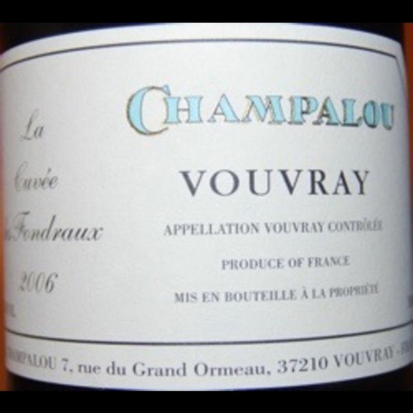 Champalou Fondraux Vouvray 2019<br /> Loire, France