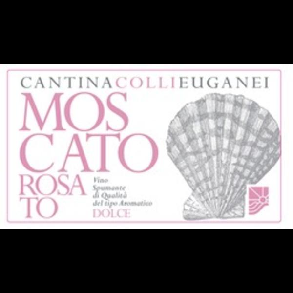 Cantina Collieuganei Moscato Rosato Sweet Sparkling Wine<br /> Veneto, Italy