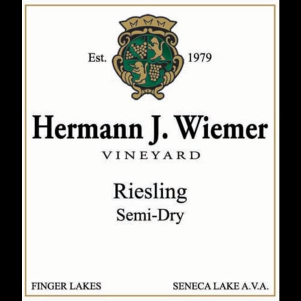 Hermann J. Wiemer Semi-Dry Riesling 2017<br /> Finger Lakes, New York