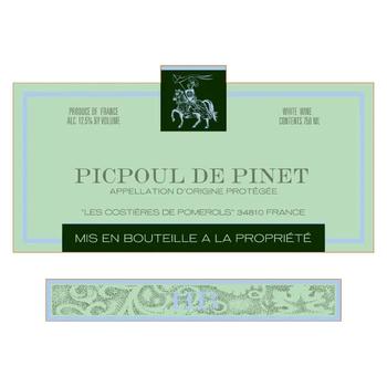 Picpoul Hugues Beaulieu Picpoul de Pinet 2019<br />Languedoc, France