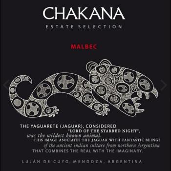 Chakana Chakana Estate Malbec 2018<br />Mendoza, Argentina<br />90pts-JS