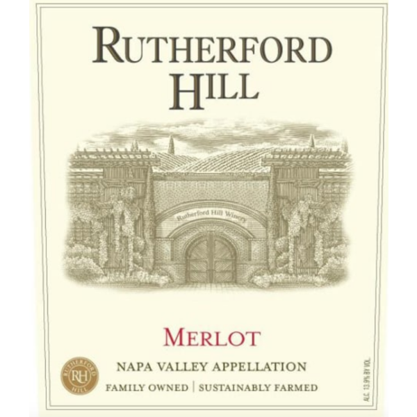 Rutherford Hill Rutherford Hill Merlot 2016<br /> Napa, California<br /> 92pts-JS