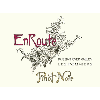 En Route EnRoute Winery Les Pommiers Pinot Noir 2018  <br /> Russian River, California<br /> 93pts-WS, 93pts-WE