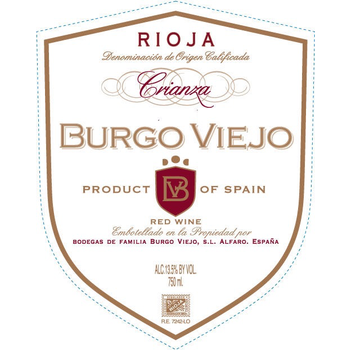 Burgo Viejo Rioja Crianza 2016 Rioja, Spain  <br /> 92pts-JS