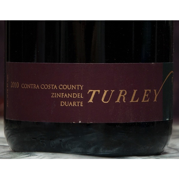 Turley Turley Duarte Vineyard Zinfandel 2018  <br /> Central Coast, California<br /> 94pts-V