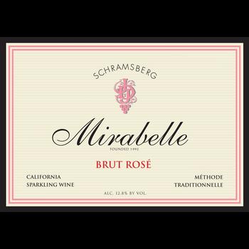Schramsberg Schramsberg Mirabelle Brut Rose<br /> California<br /> 90pts-WA, 90pts-WS