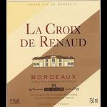 La Croix de Renaud Rouge 2015 Bodeaux, France