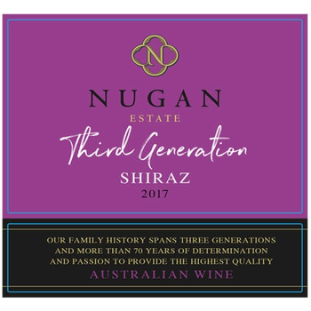 Nugan Estate Third Generation Shiraz 2017<br /> South East, Australia