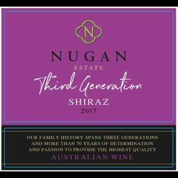Nugan Estate Third Generation Shiraz 2019<br /> South East, Australia