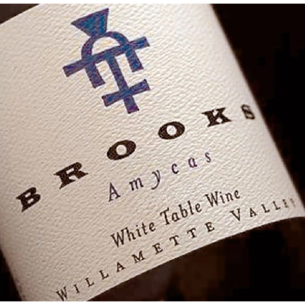 Brooks Winery Amycas White Wine 2019<br /> Willamette Valley, Oregon