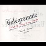 Domaine du Vieux Telegraphe Chateauneuf-du-Pape Telegramme 2018<br /> Chateauneuf-du-Pape, Rhone, France<br /> 93pts-JS, 92pts-WS