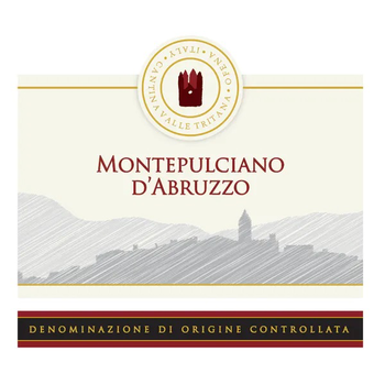 Cantina Valle Tritana Montepulciano d'Abruzzo 2017<br /> Abruzzo, Italy