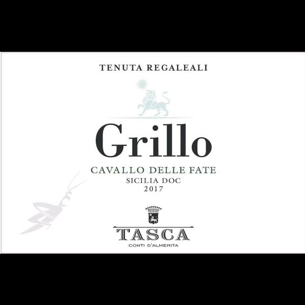 Tasca d'Almerita Cavallo delle Fate Grillo 2017<br /> Sicily, Italy<br /> 91pts-JS, 91pts-WA