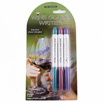 Epic Wine Glass Writer Pens Spring Collection  3 Pens Included
