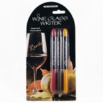Epic Wine Glass Writer Pens Harvest Collection  3 Pens Included