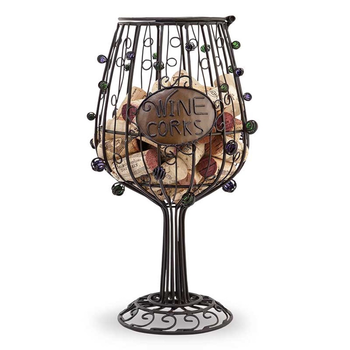 Epic Cork Cage Wine Glass