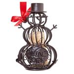 Epic Cork Cage Ornament Snowman