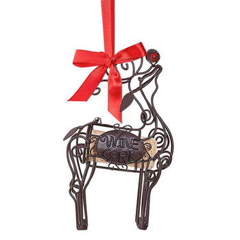 Epic Cork Cage Ornament Reindeer
